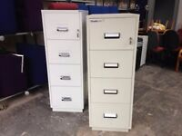 CHUBB 4 DRAWER FIRE PROOF SAFE FILING CABINET WITH KEYS £450 EACH OR NEAR OFFER