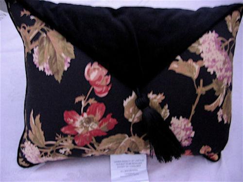 Waverly Black Floral Home Amp Garden Ebay