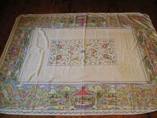 Easter Tablecloth Ebay