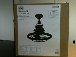 Hampton Bay Bentley Ii 13 In Outdoor Oscillating Tarnished