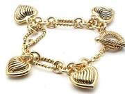 Antique Gold Charm Bracelet