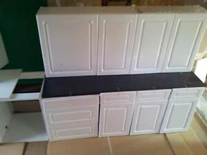 Complete Kitchen EBay - Grey kitchen units sale