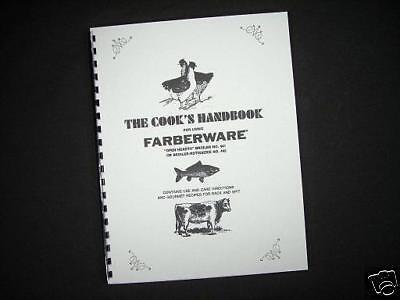 Farberware 441 445 Broiler Rotisserie Grill Instructions Manual & - Manual Rotisserie