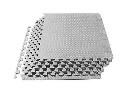 Puzzle Exercise Mat, EVA Foam Interlocking Tiles, Protective