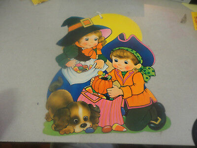 Amazing Halloween Decoration Pilgrim Boy and Girl with Candy](Awesome Halloween Candy)