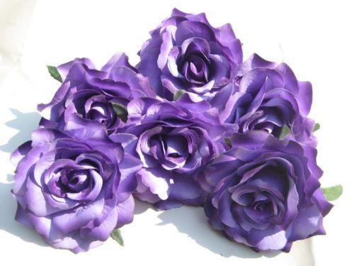 Purple Artificial Flowers Ebay