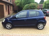 TOYOTA YARIS, 5 DOOR,FULL SERVICE HISTORY, 2004,EXCELLENT CONDITION