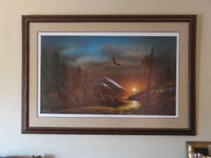 terry redlin signed prints