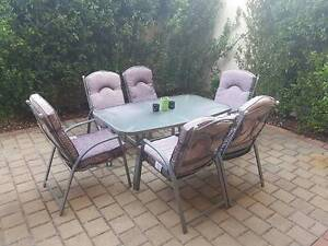 Outdoor Table & Chairs Yokine Stirling Area Preview