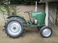Crawley small horticultural tractor WANTED up to £500 cash paid...