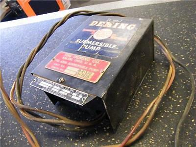 Deming Pump Submersible Vintage 34hp 230v 60ph