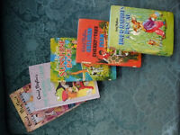 Collection of Enid Blyton Books ranging from 1956 to 1988