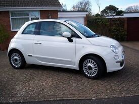 Fiat 500 2009 59 plate 69k miles. Bought from main Fiat dealer