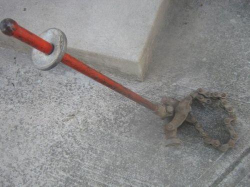 Cast iron pipe cutter ebay