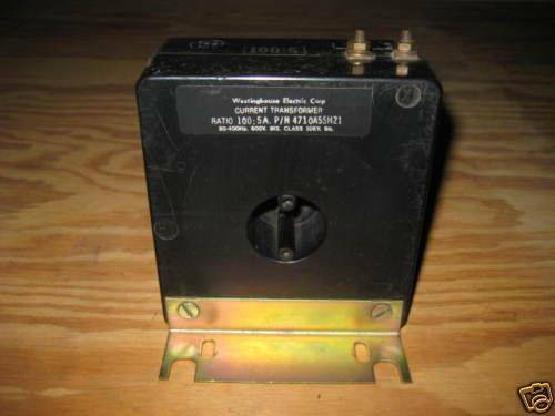 Westinghouse 4710A55H21 Current Transformer 100:5 A CT