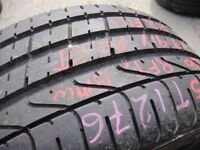 255/30/19 Pirelli P Zero TM, Runflat, BMW, 7.8mm (454 Barking Rd, Plaistow, E13 8HJ) Partly Worn