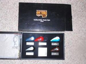 Harley Davidson Collectible Tank Set