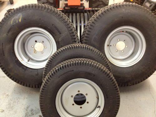 Kubota Tractor Rims Wheels : Kubota turf tires tractor parts ebay
