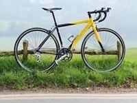 Carrera TDF road bike. 16 Shimano gears. 51cm Medium frame, fast ride, low miles, perfect for summer