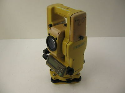 Topcon Gts-311 2 Total Station Complete For Surveying One Month Warranty