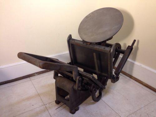 Printing Press Ebay