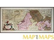 Antique Map Germany