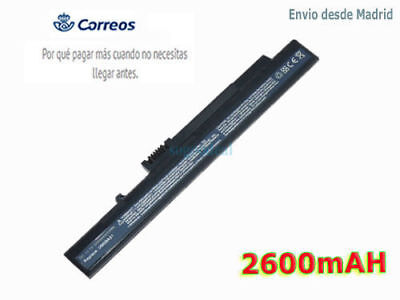 Notebook/Laptop Batería Acer Aspire One A0A110 D250 KAV10 KAV60 Battery