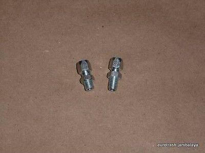 Dellorto 1104 / 1691 Cable Adjuster Pair NOS Ducati Bevel Single 160 250 350 450