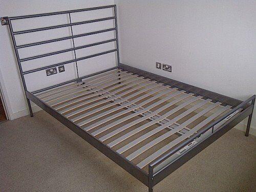 Ikea Metal Bed Frame No Mattress