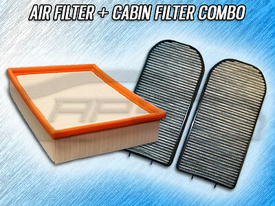 AIR FILTER CABIN FILTER COMBO FOR 1995 1997 1998 1999 2000 2001 BMW 740i