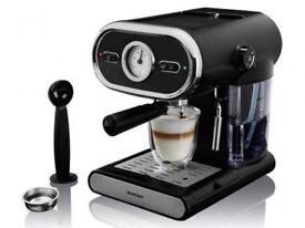 SILVERCREST ESPRESSO MACHINE COFFEE MACHINE PORTAFILTER SYSTEM BRAND NEW IN BOX