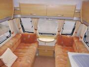 Swift Caravan Fixed Bed