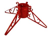 """Xmas Tree Stand for live Xmas Tree - 4"""" or 5"""" Base RED"""