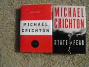 Michael Crichton Lot
