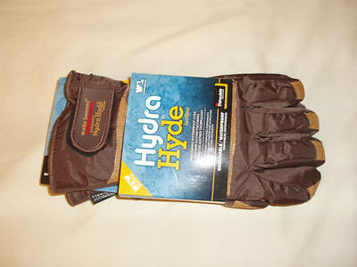 Wells Lamont Hydra Hyde Thermal Work Gloves Leather Large L Thinsulate