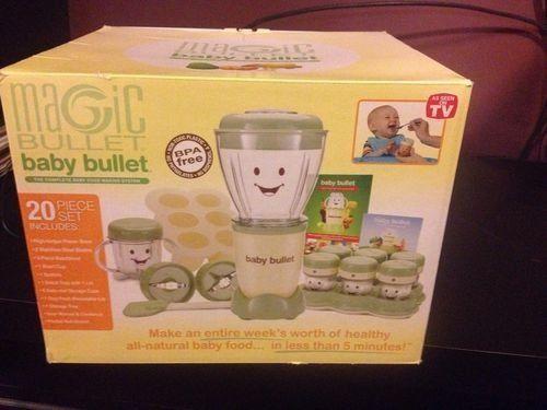 Baby Bullet Food System Ebay