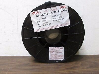 Hqa Ultracore 712a80 .062 Aws A5.20 Csmww Flux-cored Welding Wire 11lbs New