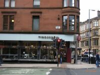 2 bed flat of byres Rd