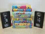 Wiggles VHS Lot