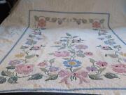 Vintage Cross Stitch Quilt