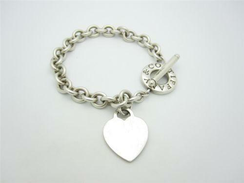 Tiffany And Co Sterling Silver Link Bracelet