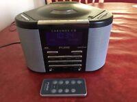 PURE CHRONOS CD / DAB RADIO / ALARM CLOCK / REMOTE CONTROL - 100ML