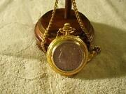 Silver Dollar Pocket Watch