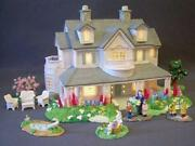 Lighted Ceramic Christmas House