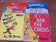 Dr Suess Book Lot
