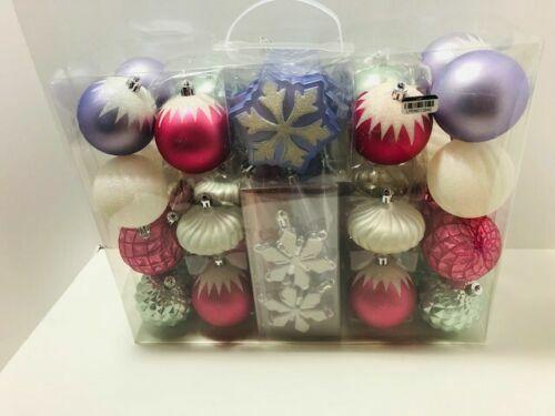 40ct Snow Day Parade Christmas Ornament Set - Wondershop