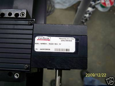 Lintech Belt Driven Precision Slide  Model 46320