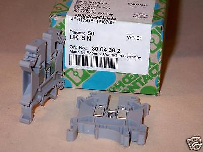 Phoenix Contact 3004362 Uk 5 N Uk5n Terminal Block 50