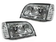 W140 Headlight