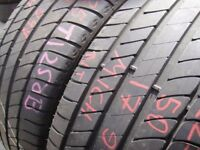 225/50/17 Michelin Primacy HP x2 A Pair, 5.8mm (454 Barking Rd, Plaistow, E13 8HJ) Partly Worn